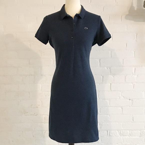Lacoste Dresses & Skirts - Lacoste Slim Fit Mini Piqué Polo Dress size 40